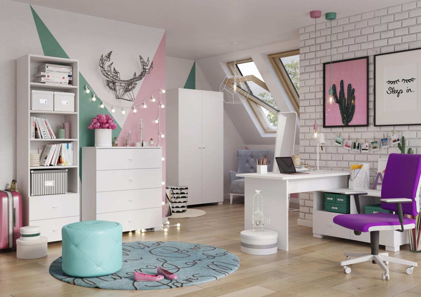 Jak powinna wyglądać szafa do pokoju młodzieżowego